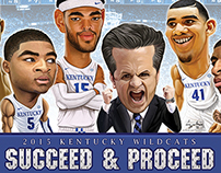 2015 UK Wildcats Final Four Poster