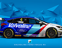 Re-Imagined x BTCC liveries