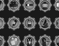 Robot Achievement Badges