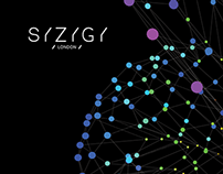 Syzygy London - Staff Pulse Visualisations