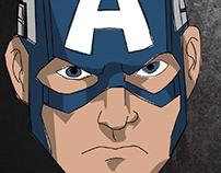 captain america comic illustrator