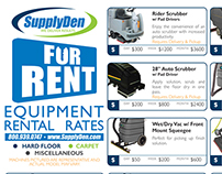 Equipment Rental Literature