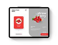 FRUIT APPS UI DESIGN IDEA