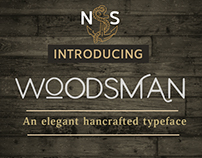 Woodsman Typeface