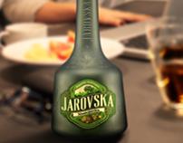 Coating green bottles for Jarovska