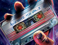 Guardians of the Galaxy - VOL2- Vector art tribute
