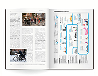 graphic | bike and paper