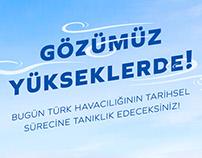 """""""Türk Havacılık Tarihi"""" Sergileme Tasarımı"""
