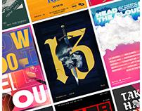 Typography Experiments - 2018