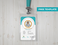 ID Card Design FREE TEMPLATE