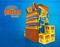 COLOMBIANA PALLET DISPLAY