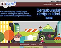 Forevent - Web Design