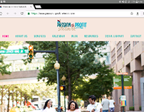 Passion to Profit Network - Squarespace Web Design