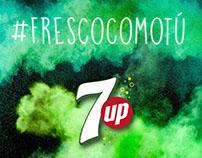 7UP México - Social Media