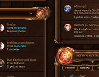 Marvelia - Board RPG Game Design