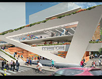 Gensler Internship: Atlanta Midtown Marta Station