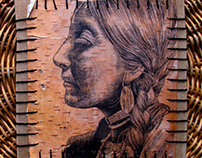 Birch Bark & Ink