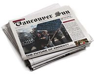Vancouver Sun Redesign Concept