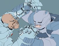 Batman vs Cyborg