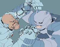 Batman vs Cyborg