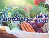 Sunflower Farmers Market Branding Drafts