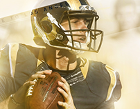 Jared Goff Rams Jersey Swap