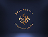 Identidade Visual Daiani Lize estética facial visagismo