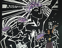 Abhyuday Social Fest: Wall Mural