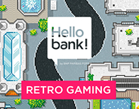 Hello Bank ! | Retro Gaming