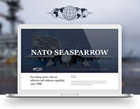 NATO SEASPARROW | Website Design