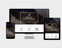 Achille Carpenteria - Website