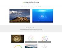 Portfolio Prism WordPress Theme