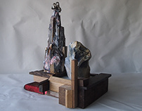 The People Who came From The Sea - Sculpture No.2