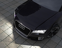 Audi RS7 Solidworks