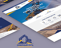 Responsive landing page - selling of dredged sand