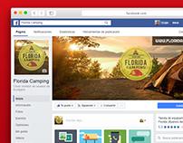 Florida Camping - Diseño de Fanpage Facebook