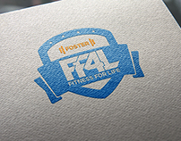FF4L: Foster Fitness For Life Logo Design