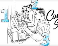 Animation & Whiteboard VDO scripts [Albert Heijn a.o.]