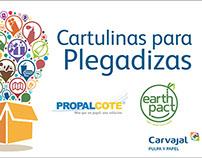 Catalago Cartulina Plegadizas Propalcote y Earth Pact