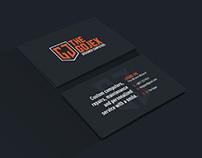 The Gojex logo & business card design