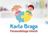 Logo Karla Braga - Fonoaudióloga