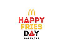 CALENDAR- HAPPY FRIES DAY