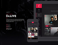 liv.LIVE Book Music App