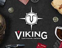 Logotype for Viking  travel company