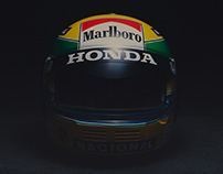Ayrton Senna's Helmet