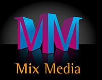 Mix Media Logo Concept
