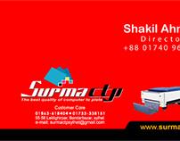 Surma CTP card design