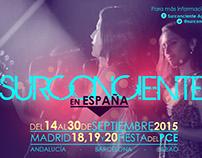 Flyer design for Surconciente