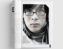 Magazine Template - InDesign 24 Page Layout V11