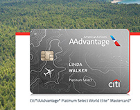 American Airlines CITI Card Website